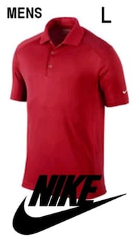 NEW MENS NIKE DRI FIT POLO LARGE  Mississauga, L5B 4M6