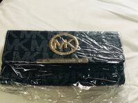 black and gray leather belt 555 km