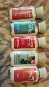 travel size bath and body works lotion