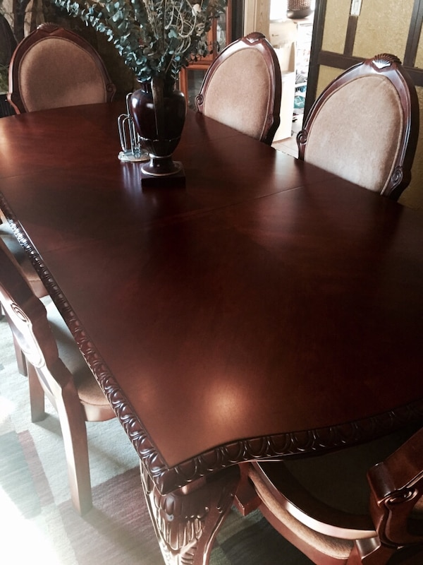 Used Classic Dining room set with China cabinet for sale in Clifton ...