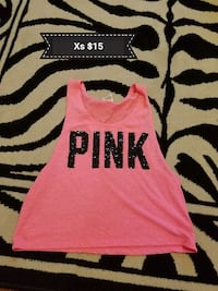 pink Pink by Victoria's Secret tank top
