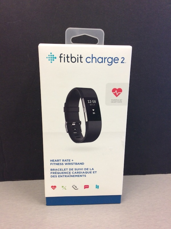 Fitbit Charge 2 like new in box  204d2057-74ce-4eee-a988-14539906626f