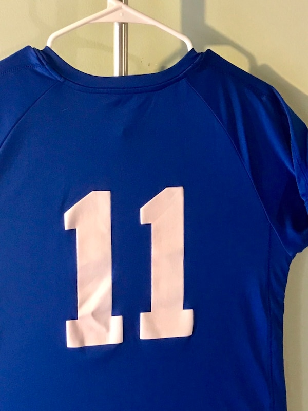 dda76dd79 Used Blue and white Dodgers jersey shirt for sale in Monterey Park ...