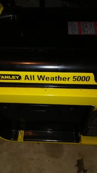 Brand NEW Stanely All Weather Generator