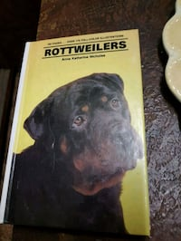 Hardcover Book of Rottweilers Laval, H7E 5K7