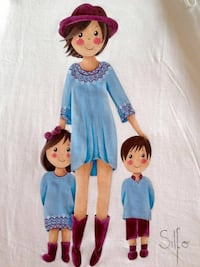 blue and white dressed doll Phoenix, 85051