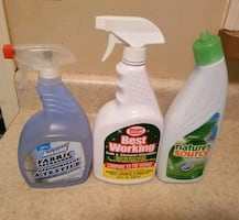 Fabric freshener, tub&shower, toilet cleaner