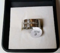 silver and diamond ring in box Fountain Valley, 92708