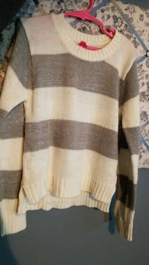 Girls sweater size 6X