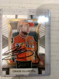Chase Elliott autograph card