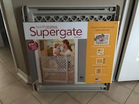 Supergate new 26 high baby pet gate  549 km