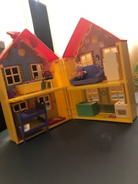 Peppa pig house furnished and pigs family and friends!  Tampa, 33604