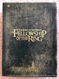 Lord of the Rings: Fellowship of the Rings DVD Ashburn, 20147