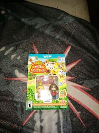 Animal crossing amiibo festival Wii u game and two figures pack Summerville