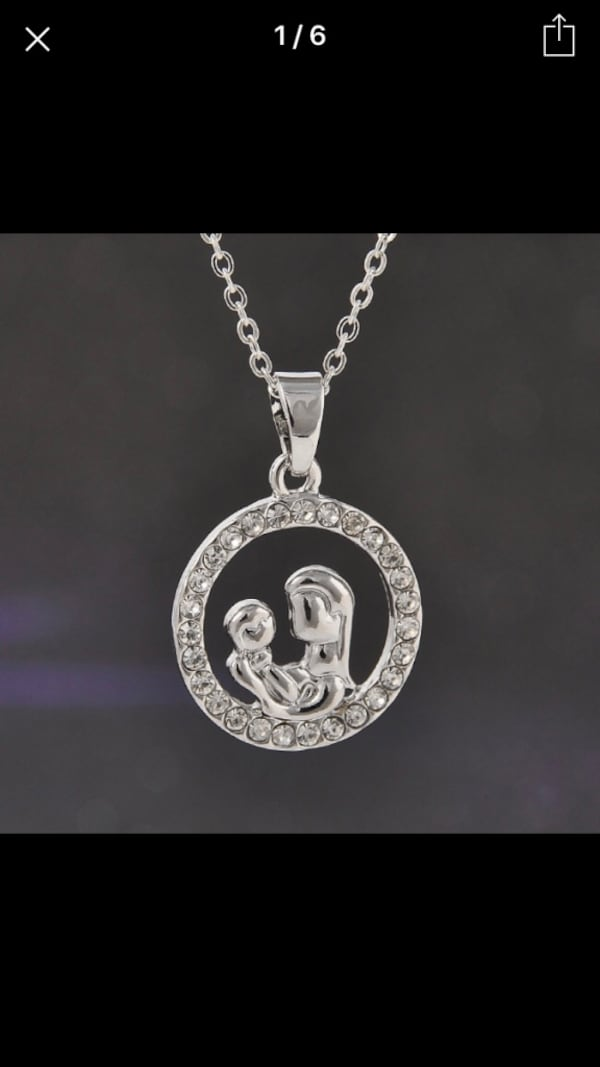 Mother baby special necklace c8100db1-338b-4ba0-83bb-6bfbcde1d69f