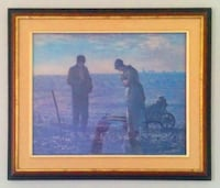 "Painting: ""The Angelus"" by Jean-François Millet. TORONTO"