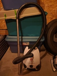 black and gray canister vacuum cleaner Edmonton, T6T 1Z1