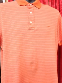 white and red striped polo shirt Las Vegas, 89104