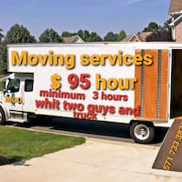 2 mover and truck 95 per hour  Gaithersburg