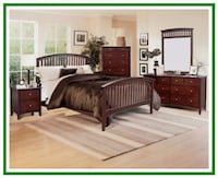 Thomasville Style Mission Bedroom Set QUEEN Baltimore