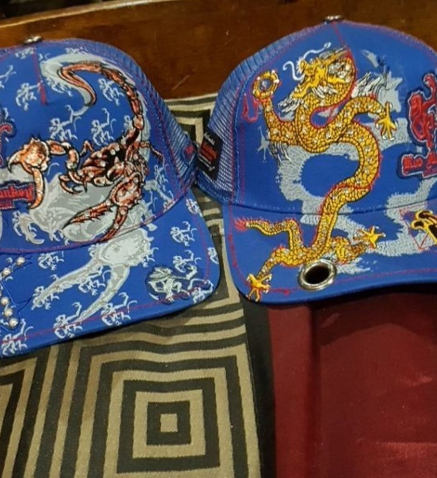 Red Monkey Hats Brand New W/ Tags