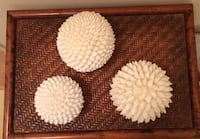 Decorate with shell balls