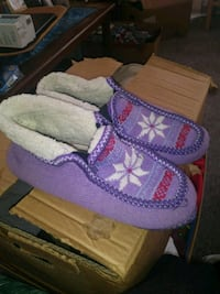 Purple Women's Slippers Soft Sole San Elizario, 79849