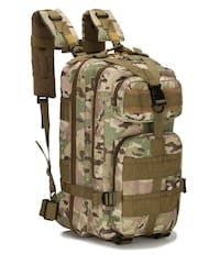 Tan Camo Tactical backpack 25L Scranton