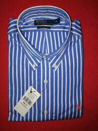 Ny custom fit Ralph Lauren skjorta Striped Coll Linköping, 587 38