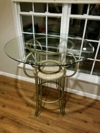 High top glass table Huntersville, 28078