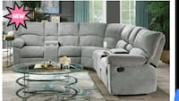 New Recliner Sectional Austin