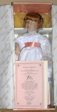 Porcelain Doll- Polly- Edwin Knowles China Co 68 km