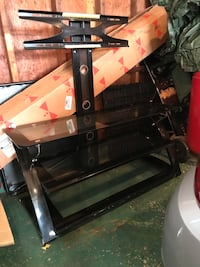 black and gray TV stand Fairport, 14450