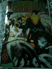 generation x first issue comic book