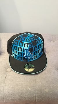 New ERA Blue and black LA fitted cap Los Angeles