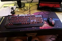 Cooler master gaming keyboard and mouse combo Burnaby, V5B 3X8