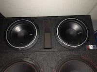 black and gray subwoofer speaker Woodlawn, 37191