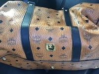Brown and Black MCM bag 25 mi