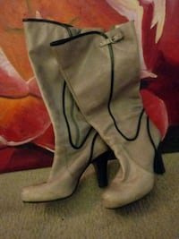 Leather boots sz 10 Napa, 94559