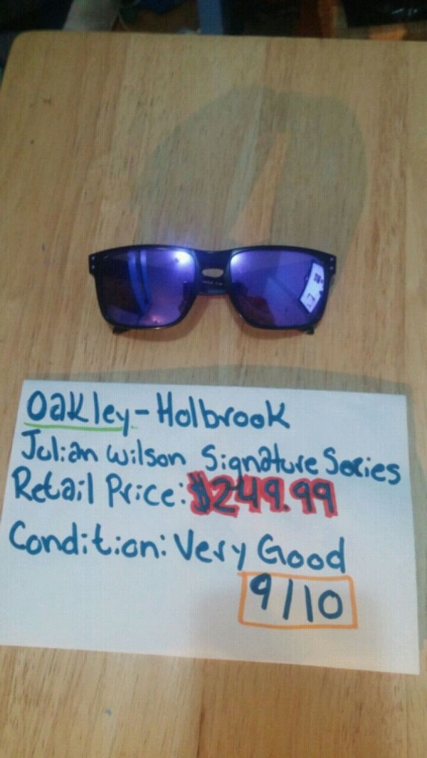 760b969bd4 Used Oakley - Holbrook ... Julian Wilson sign. series! for sale in Calgary  - letgo