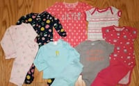 Baby girl clothing 3-6 months Toronto, M9M
