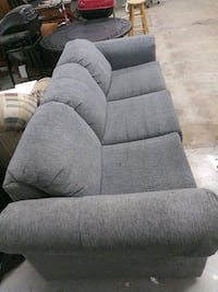 Gray 3 person couch Cheshire, 06410