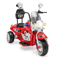 BCP 12V Kids Ride-On Motorcycle w/ Built-In Music, MP3 Plug-In Maryland