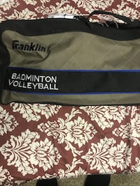 Gray and black franklin badminton volleyball duffel bag Capitol Heights, 20743