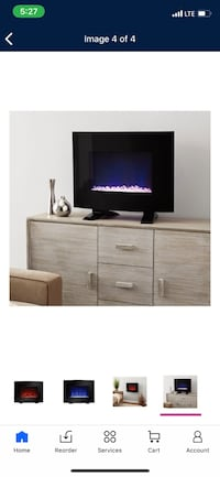 Fire place space heater