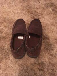 pair of brown leather slip on shoes Midland, 79701