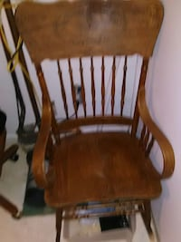 brown wooden rocking chair Upper Marlboro, 20772