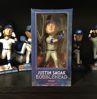 Happ and Smoak Bobbleheads for Trade Toronto, M3A 3K2