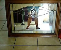 Stain glass mirror San Jose, 95112