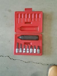 black and gray ratchet wrench set with caes Camden, 08105